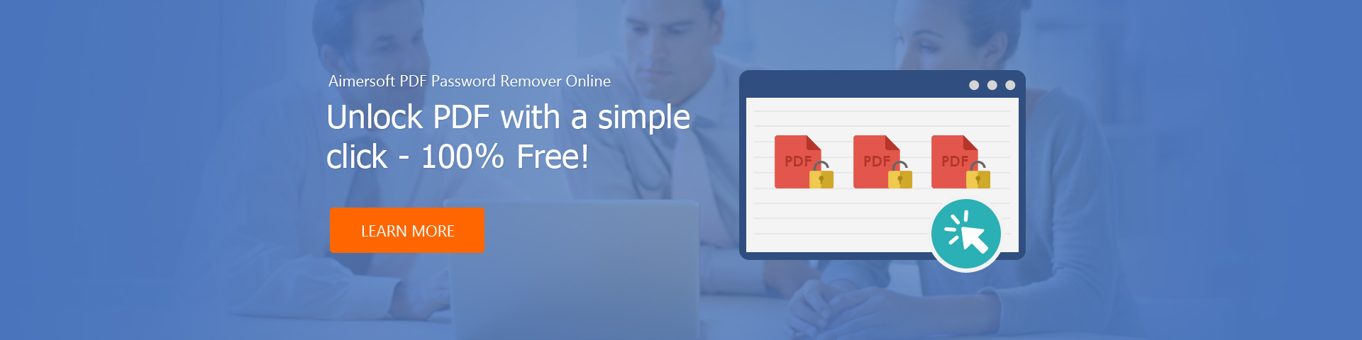 Aimersoft PDF Password Remover Online