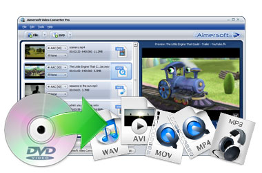 Rip DVD to Video and Audio in Any Format