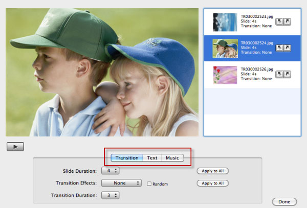 aimersoft mac dvd creator slideshow