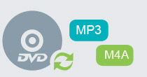 convert dvd to mp3