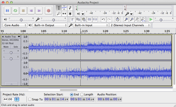 Audacity - Record music from YouTube