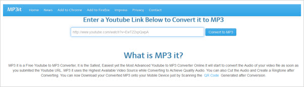 rip mp3 from youtube online