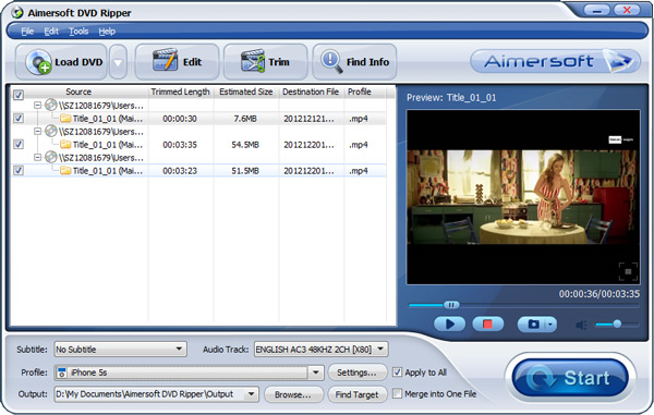 dvd to iTunes converter