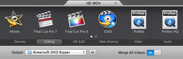copy dvd to imovie