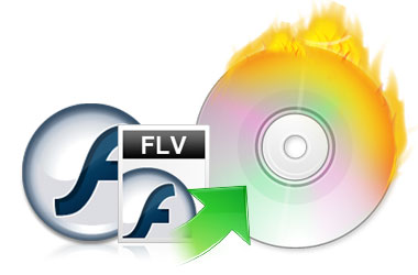 how to burn FLV to DVD
